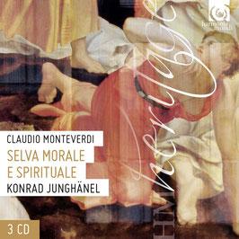 Claudio Monteverdi: Selva Morale e Spirituale (3CD, Harmonia Mundi)