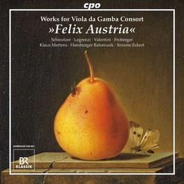 Felix Austria, Works for Viola da Gamba Consort (CPO)