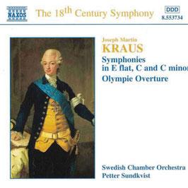 Joseph Martin Kraus: Symphonies Vol. 1, Olympic Overture (Naxos)