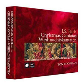 Johann Sebastian Bach: Christmas Cantatas (3CD, Challenge Classics)