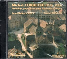 Michel Corrette: Mélodies populaires pour hautbois et orgue (Cascavelle)