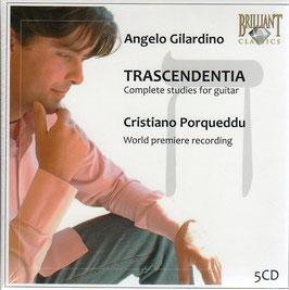 Angelo Gilardino: Trascendentia, Complete Studies for guitar (5CD, Brilliant)