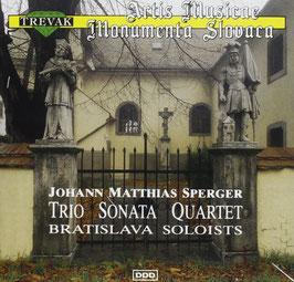Johann Matthias Sperger: Trio, Sonata, Quartet (Trevak)