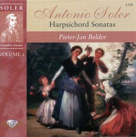 Antonio Soler: Harpischord Sonatas volume 2 (2CD, Brilliant)