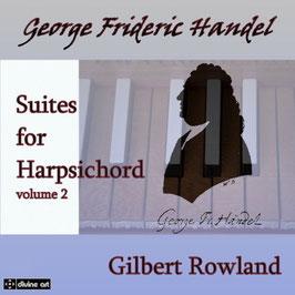 Georg Friedrich Händel: Suites for Harpsichord, vol. 2 (2CD, Divine Art)