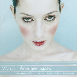 Antonio Vivaldi: Arie per basso (Naïve)