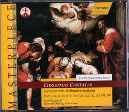 Johann Sebastian Bach: Christmas Cantatas (4CD, Hänssler)