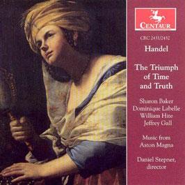 Georg Friedrich Händel: The Triumph of Time and Truth (2CD, Centaur)