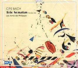 Carl Philipp Emanuel Bach: Trio Sonatas WQ 144-151 (2CD, CPO)