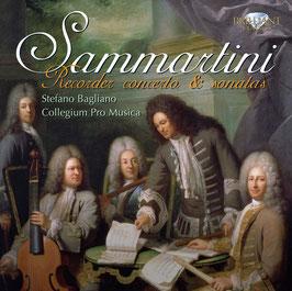 Giuseppe Sammartini: Recorder concerto & sonatas (Brilliant)