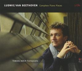 Ludwig van Beethoven: Complete Piano Pieces (3CD, Avi, BR-Klassik)