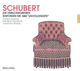 Franz Schubert: Die Verschworenen, Sinfonien Nr. 5 & 8 'Unvollendete' (2CD, Naïve)