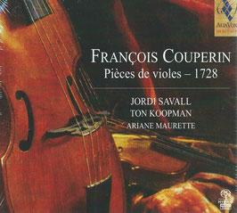 François Couperin: Pièces de violes 1728 (SACD, Alia Vox)