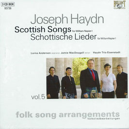 Franz Joseph Haydn: Scottish Songs for William Napier I (3CD, Brilliant)