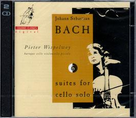 Johann Sebastian Bach: Suites for cello solo (2CD, Channel Classics)