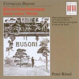 Ferruccio Busoni: Klavierbearbeitungen Bach'scher Werke (Berlin)