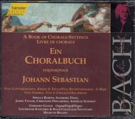 Johann Sebastian Bach: Ein Choralbuch für Johann Sebastian, Von Gottvertrauen, Kreuz & Trost / Von Rechtfertigung & Busse (2CD, Hänssler)