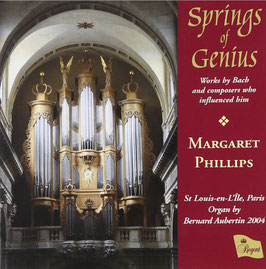 Springs of Genius, Works by Bach and composers who influenced him (Regent)