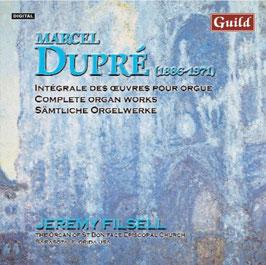 Marcel Dupré: Intégrale des oeuvres pour orgue, volume 2 (Guild)