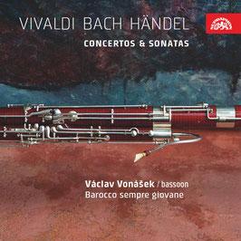 Antonio Vivaldi, Johann Sebastian Bach, Georg Friedrich Händel: Concertos & Sonatas (Supraphon)