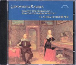 Genovieffa Ravissa: Sonaten für Cembalo Op. 1 (Musicaphon)