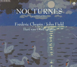 Frédéric Chopin, John Field: The Art of the Nocturne in the Nineteeth Century, Nocturnes complete (4CD, Brilliant)