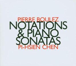 Pierre Boulez: Notations & Piano Sonatas (Hat Art)