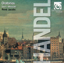 Georg Friedrich Händel: Saul, Messiah (4CD, Harmonia Mundi)