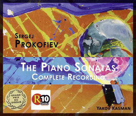 Sergei Prokofiev: The Piano Sonatas, Complete Recordings (3CD, Phaia)