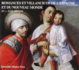 Romances et Villancicos de l'Espagne et du Nouveau Monde XVe-XVIIe Siècles (Jade)