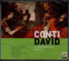 Francesco Bartolomeo Conti: David (2CD, Virgin)