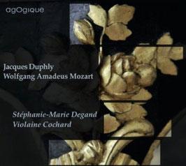 Jacques Duphly, Wolfgang Amadeus Mozart: Pièces pour le clavecin avec accompagnement de violon (Agogique)