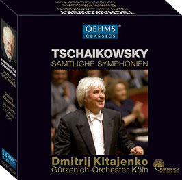 Pyotr Ilyich Tchaikovksy: Sämtliche Symphonien (8CD, Oehms)