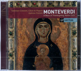 Claudio Monteverdi: A Mass of Thanksgiving, Venice 1631 (2CD, Virgin Veritas)