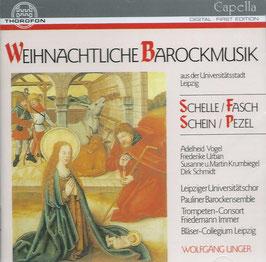Weihnachtliche Barockmusik: Schelle, Fasch, Schein, Pezel (Thorofon)