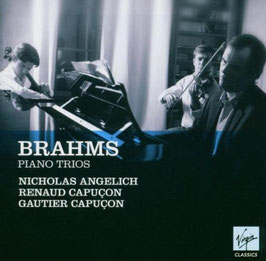 Johannes Brahms: Piano Trios (complete) (2CD, Virgin)