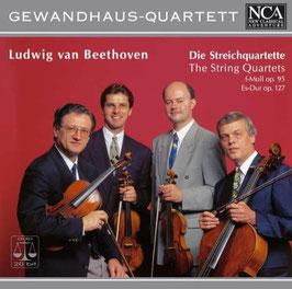 Ludwig van Beethoven: Die Streichquartette op. 95, op. 127 (NCA Classical)