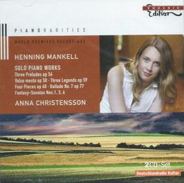 Henning Mankell: Solo Piano Works (2CD, Phoenix)