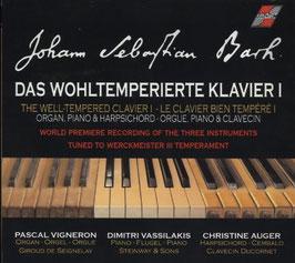 Johann Sebastian Bach: Das Wohltemperierte Klavier I (2CD, Quantum)
