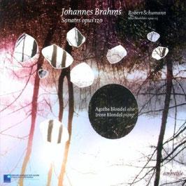 Johannes Brahms: Sonatas opus 120 (Ambroisie)
