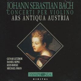 Johann Sebastian Bach: Concerti per violino (Symphonia)