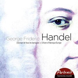 Georg Friedrich Händel: Citizen of Baroque Europe, Giulio Cesare, Messiah, Water Musick, Dixit Dominus, Birthday Ode, Concerti Grossi Op. 3 (8CD, Harmonia Mundi)