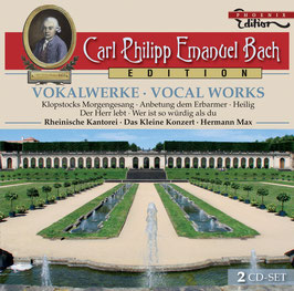 Carl Philipp Emanuel Bach: Vokalwerke (2CD, Capriccio Phoenix)