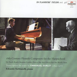 18th Century Flemish Composers for the Harpsichord, transciption for piano by Emmanuel Durlet (Phaedra)