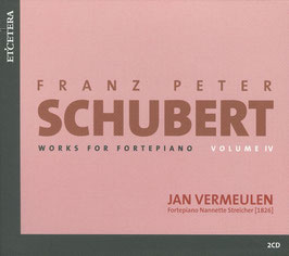 Franz Schubert: Works for Fortepiano, Volume 4 (2CD, Etcetera)