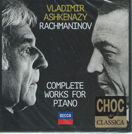 Sergei Rachmaninoff: Complete Works for Piano (11CD, Decca)