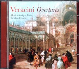 Francesco Maria Veracini: Overtures (Brilliant)
