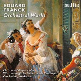Eduard Franck: Orchestral Works (Audite)