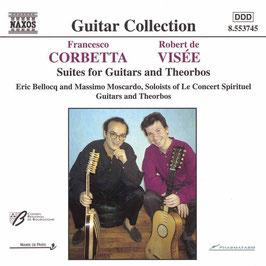 Francesco Corbetta, Robert de Visée: Suites for Guitars and Theorbos (Naxos)