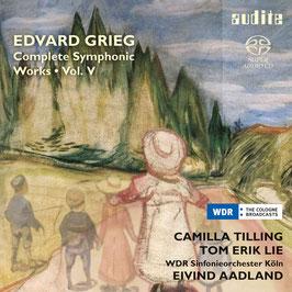 Edvard Grieg: Complete Symphonic Works Vol. V (SACD, Audite)